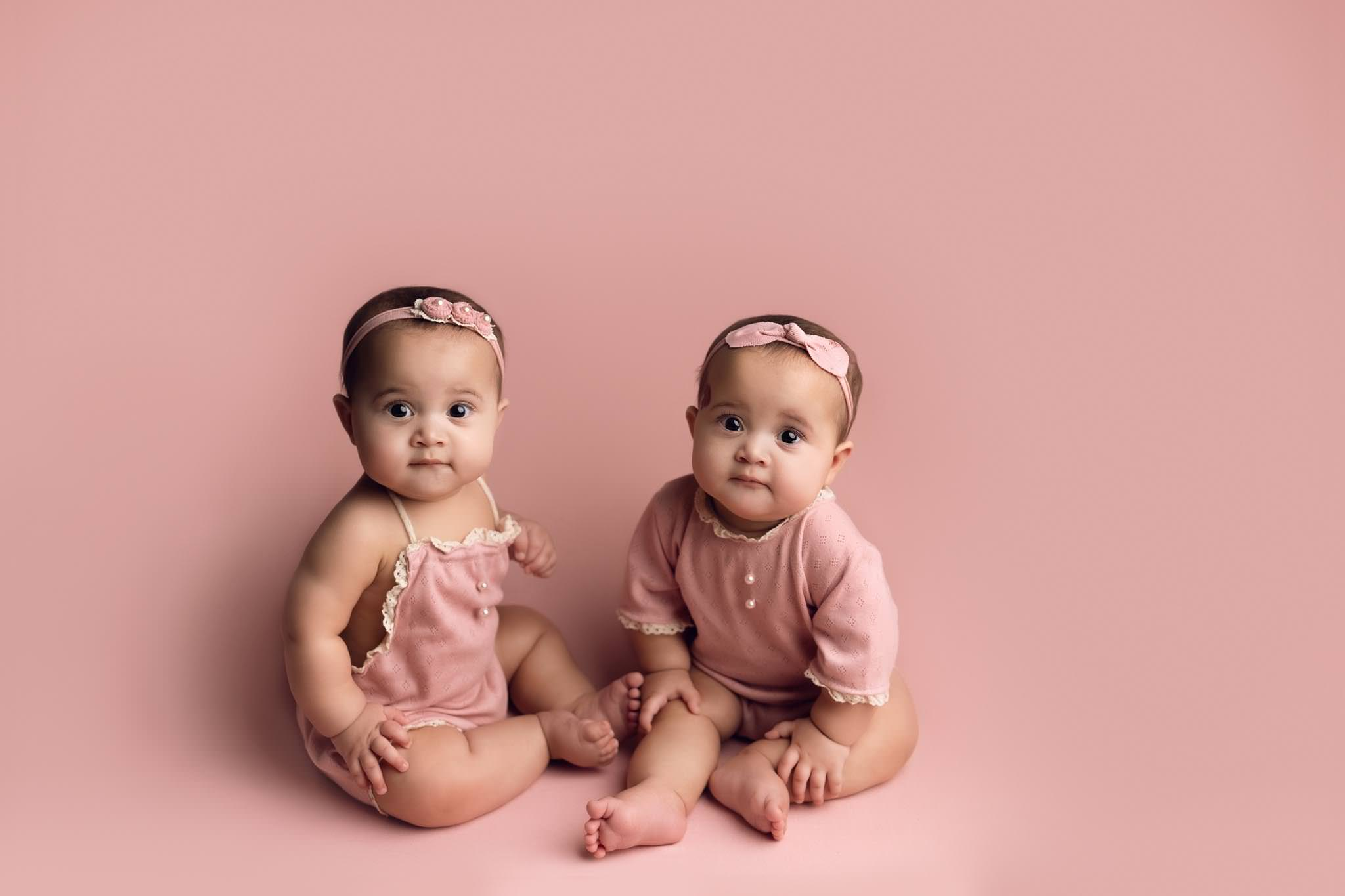 Twin family session Essex