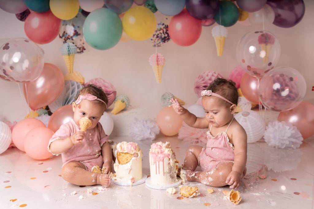 Twin Cake Smash Photographer
