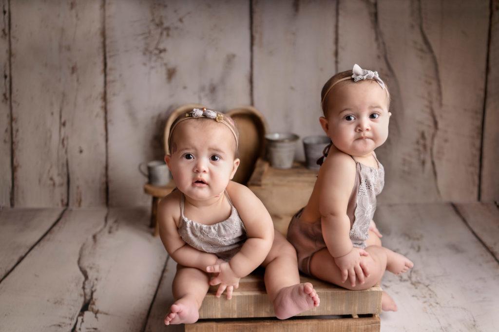 twin sitter photoshoot