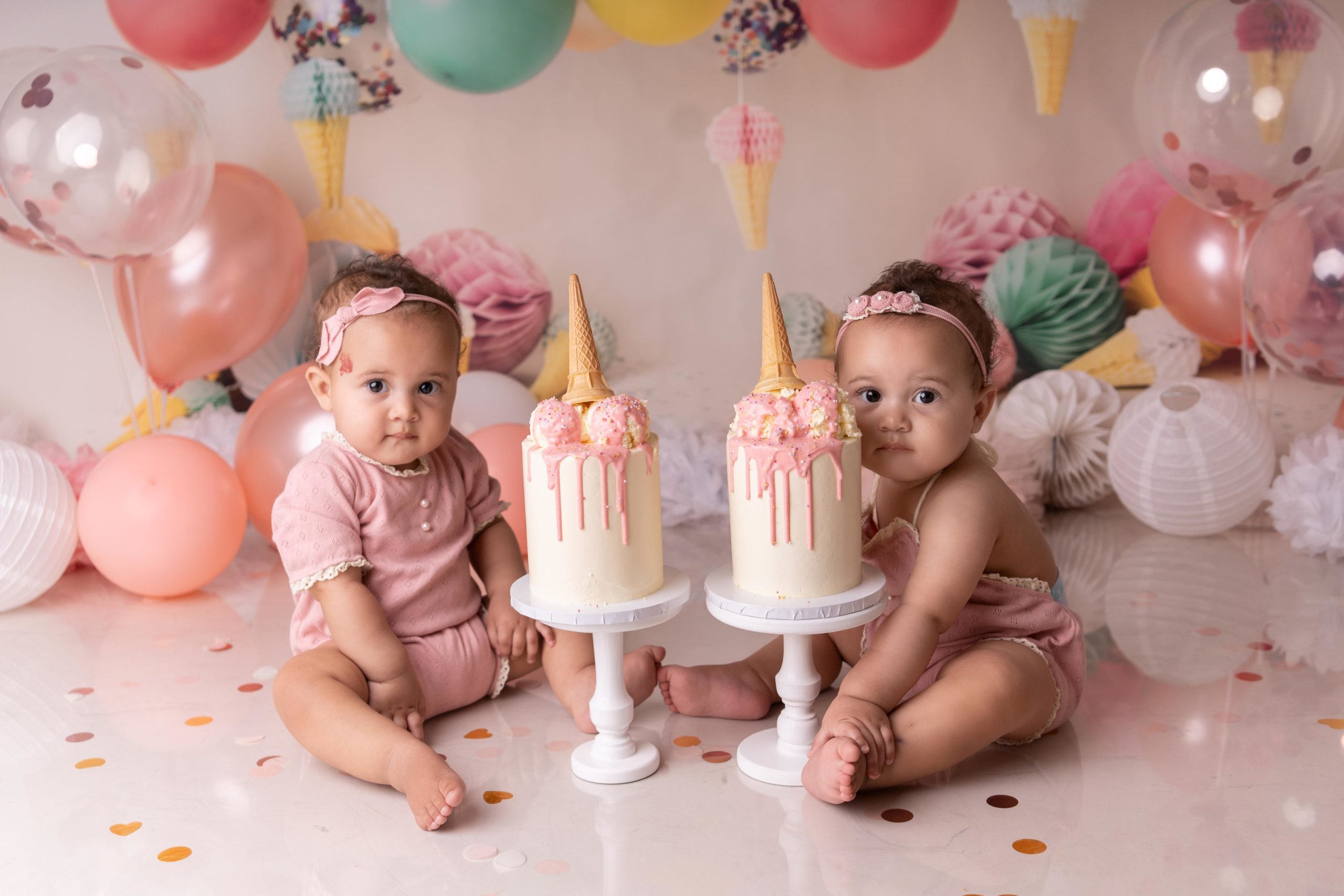 Twin Cake Smash